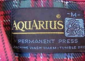 aquarius permenent press shirt